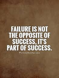FailureIsthePartOfSuccess